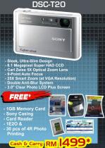 Sony DSC-T20/B