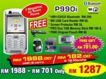 Sony Ericsson P990i Promotion Package