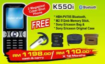 Sony Ericsson K550i Promotion Package